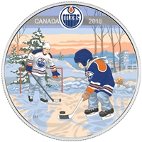 RDC 2018 Canada $10 Learning to Play - Edmonton Oilers Silver (No Tax) Scuffed