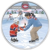 2018 Canada $10 Learning to Play - Montreal Canadiens Fine Silver (No Tax)