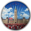 2017 $30 Celebrating Canada Day Fine Silver Coin (No Tax)