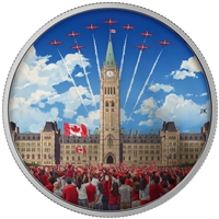 RDC 2017 $30 Celebrating Canada Day Fine Silver Coin (No Tax) - Missing Sleeve