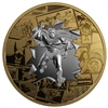 2017 Canada $50 DC Comics Originals - All Star Comics 3oz. Gold Plated Silver (No Tax)