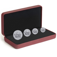 2017 Canada Maple Leaf Tribute Silver Fractional Set (No Tax)