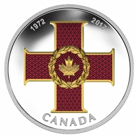 RDC 2017 $20 Canadian Honours - 45th Anniversary of the Cross of Valour (No Tax) - Capsule Scuffed
