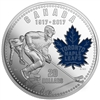 2017 Canada $20 100th Anniversary of the Toronto Maple Leafs Fine Silver (No Tax)