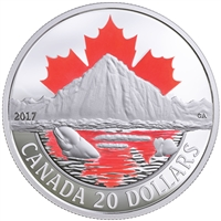 2017 $20 Canada's Coasts - Arctic Coast Fine Silver (No Tax)