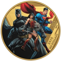 2018 Canada $100 The Justice League - United We Stand 14K Gold