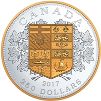 2017 $250 A Tribute to the First Canadian Gold Silver Kilo (No Tax)