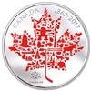 2017 $50 Canadian Icons 5oz. Pure Silver Coloured Coin (No Tax)