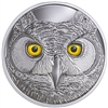 2017 Canada $15 In The Eyes of the Great Horned Owl Fine Silver (No Tax)