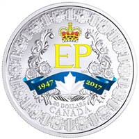 2017 Canada $20 A Platinum Celebration Fine Silver (No Tax)