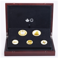 (Pre-Order) 2018 Canada Legacy of the Dime 5-coin Fine Silver Set (TAX Exempt)