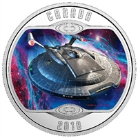 2018 Canada $10 Star Trek: Enterprise NX-01 Silver Coin (TAX Exempt)