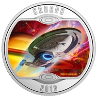 2018 Canada $10 Star Trek Voyager Silver Coin (TAX Exempt)