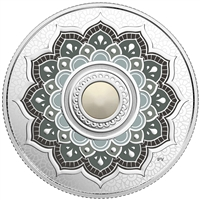 2018 Canada $5 Birthstone - June Fine Silver with Swarovski Crystal (TAX Exempt)
