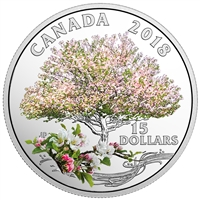 2018 Canada $15 Celebration of Spring - Apple Blossom (TAX Exempt)