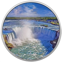 2018 Canada $30 Fireworks at the Falls 2oz. Fine Silver (No Tax)