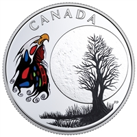 2018 Canada $3 The Thirteen Teachings from Grandmother Moon - Spirit Moon (No Tax)
