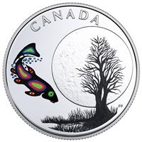 2018 Canada $3 13 Teachings from Grandmother Moon - Sucker Moon Fine Silver (No Tax)