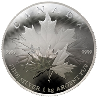2018 Canada $250 Maple Leaf Forever Fine Silver Kilo Coin (No Tax)