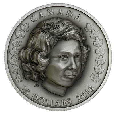 2018 Canada $25 Her Majesty Queen Elizabeth II - The Young Princess Silver (No Tax)