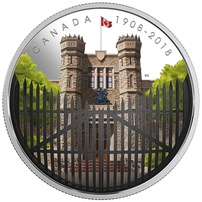 2018 Canada $30 110th Anniversary of the Royal Canadian Mint Fine Silver (No Tax)