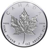 2018 Canada $20 30th Anniversary of the Silver Maple Leaf (No Tax)