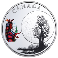 RDC 2018 Canada $3 Thirteen Teachings: Little Spirit Moon (Tax Exempt) Scuffed Box