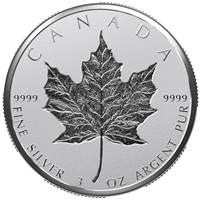 2018 Canada $50 30th Anniversary of the Silver Maple Leaf Fine Silver (No Tax)