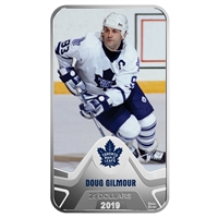 2019 Canada $25 Toronto Maple Leafs Doug Gilmour Rectangular Fine Silver (No Tax)