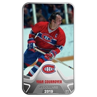 2019 Canada $25 Montreal Canadiens Yvan Cournoyer Rectangular Fine Silver (No Tax)