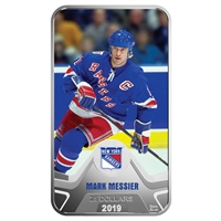 RDC 2019 Canada $25 New York Rangers Mark Messier Rectangular Silver (No Tax) scuff