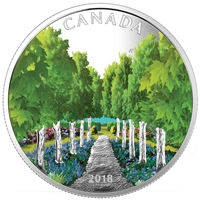 RDC 2018 Canada $20 Maple Tree Tunnel Fine Silver (No Tax) Missing Sleeve