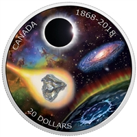 2018 Canada $20 150th Anniversary of the Royal Astronomical Society of Canada Meteorite (No Tax)