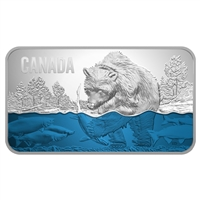 2018 Canada $25 Salmon Run Fine Silver (No Tax)
