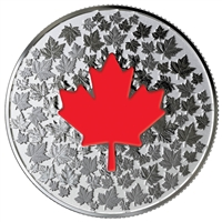 2018 Canada $5 Hearts Aglow Glow-in-the-Dark Fine Silver Coin (No Tax)