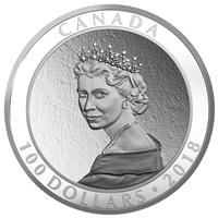 2018 Canada $100 Portrait of a Princess Fine Silver (No Tax)