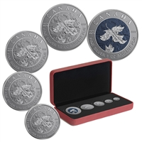 2019 Canada - A Bicentennial Celebration Fine Silver Maple Leaf Fractional Set (No Tax)