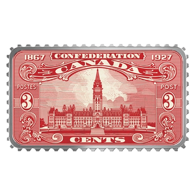 (Pre-Order) 2018 $20 Canada's Historical Stamps - Parliament Building 1927 Confederation (No Tax)