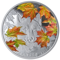 (Pre-Order) 2019 Canada $30 The Wily Wolf Fine Silver (Tax Exempt)