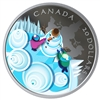 2019 Canada $20 Mystical Snow Day Fine Silver (Tax Exempt)