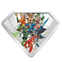 (Pre-Order) 2018 Canada $100 The Bronze Age of DC Comics Fine Silver Coin (No Tax)