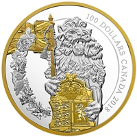 2018 Canada $100 Keepers of Parliament: The Lion (Tax Exempt)
