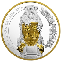 2018 Canada $100 Keepers of Parliament - The Beaver Fine Silver (No Tax)