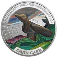 2018 Canada $50 Famous Canadian Art - Emily Carr Fine Silver (No Tax)