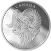 2019 Canada $30 Zentangle Art: The Bighorn Sheep Fine Silver Coin (Tax Exempt)