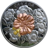 2019 Canada $50 The Bumble Bee & the Bloom Yellow & Rose Gold Plated Silver (No Tax)