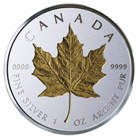 2019 Canada $20 40th Anniversary of the Gold Maple Leaf Fine Silver Coin (No Tax)