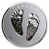2019 Canada $10 Welcome to the World - Baby Feet Fine Silver (No Tax)