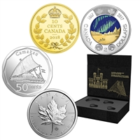 RDC 2018 The Royal Canadian Mint State-of-the-Art Set (Scuffed Capsules)