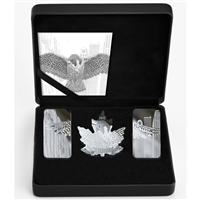 2019 Canada Wings of Hope Fine Silver 3-Coin Set (No Tax) Lightly Scuffed Capsule